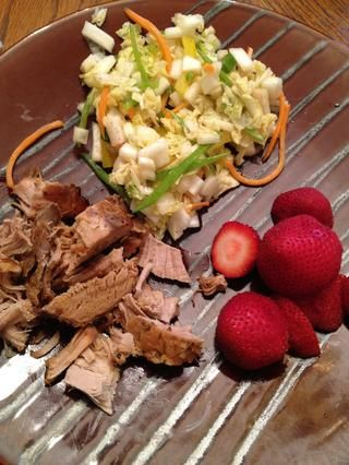 Y ahi's your dinner! Have a nice fruit side and you're good to go! Enjoy!