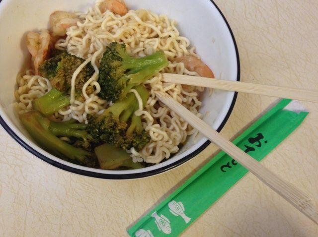 Cómo hacer Teriyaki Stir-Fry Ramen Receta