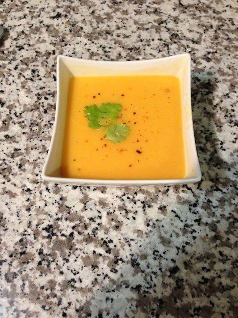 Cómo hacer curry tailandés calabaza Sopa Receta
