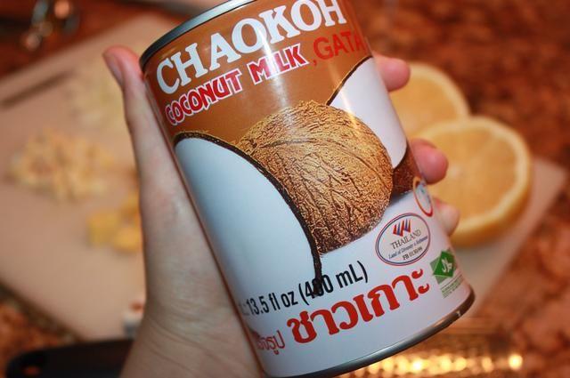 Coge tu leche de coco
