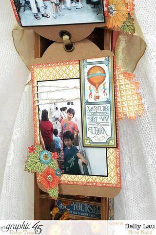 I decorar las páginas con algunas flores cortadas quisquillosos, puede colocar fuera de la página.