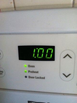 Ponga el temporizador durante 1 hora. asegúrese de apagar la chcicken más a los 30 min.