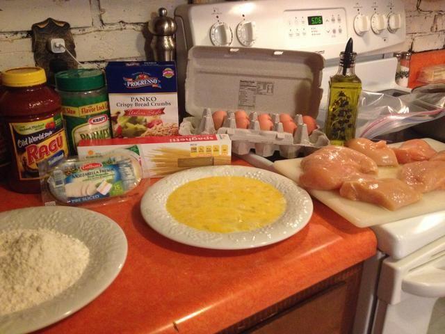 Consiga sus ingredientes listos!