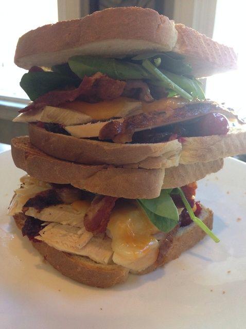 Cómo hacer el mejor de lo mejor de Acción de Gracias de sobra Sandwich Receta