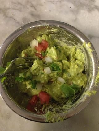 Añadir las verduras y mezclarlos entre sí