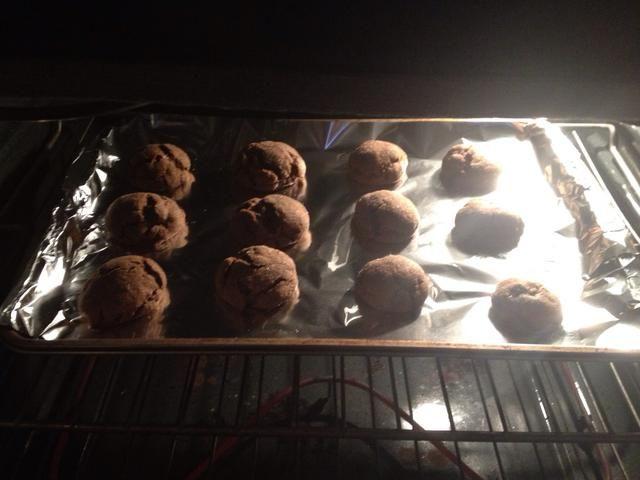 Hornea de 8 a 10 minutos o hasta que los bordes de las galletas simplemente comenzar a dorarse.