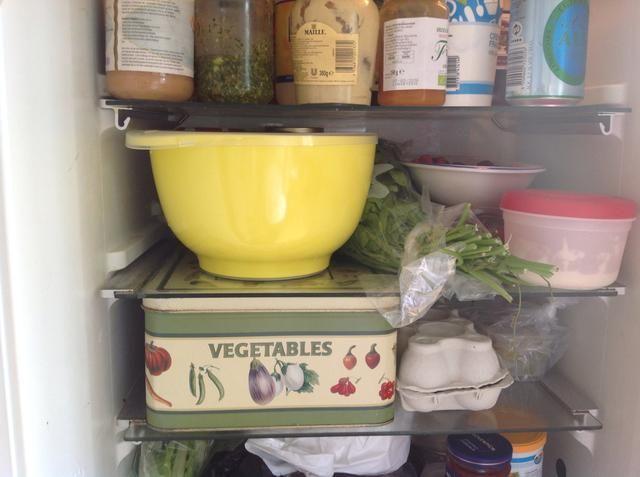 Coloque en el refrigerador por cerca de 2-3 horas ??????
