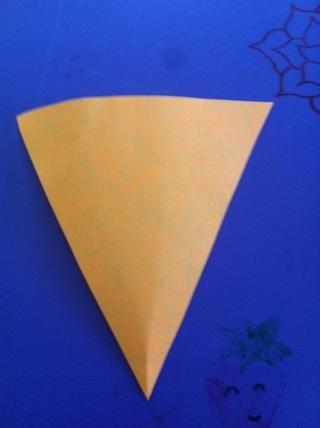 Usted debe tener un triángulo isósceles !!