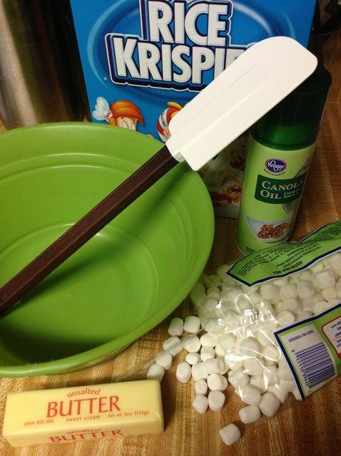 Cómo hacer el más fácil Receta de Arroz Krispies Treats