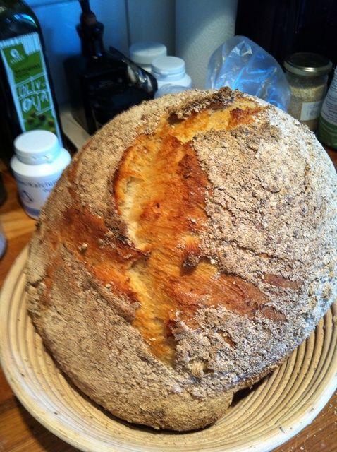 Cómo hacer el tramo más fácil y plegar Receta del pan