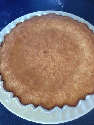 Cake se hace cuando estén doradas y un palillo salga limpio.