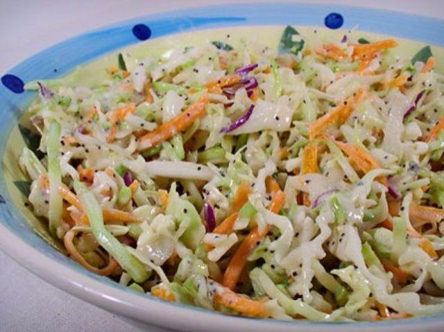 Cómo hacer la más deliciosa y fácil ensalada de col Alguna vez Receta
