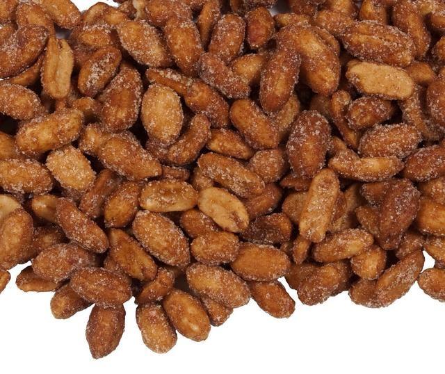 Cacahuetes asados miel-!