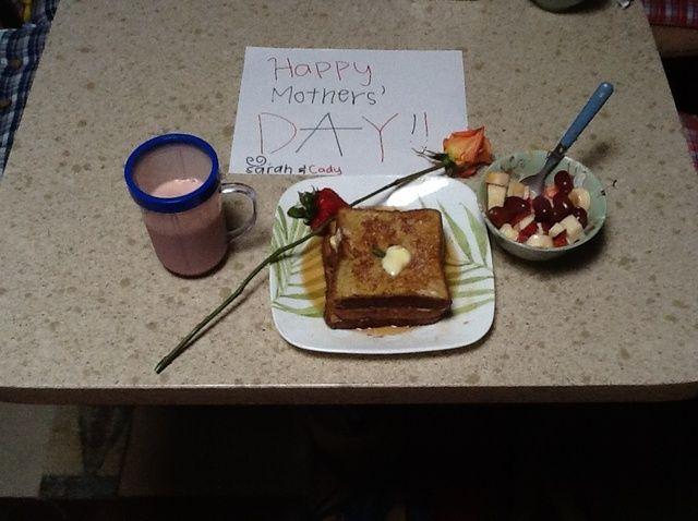 Cómo hacer que las madres perfectas' Day Breakfast Recipe