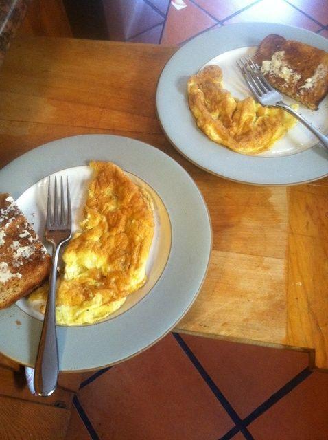 Cómo hacer la receta perfecta Llanura Omelette