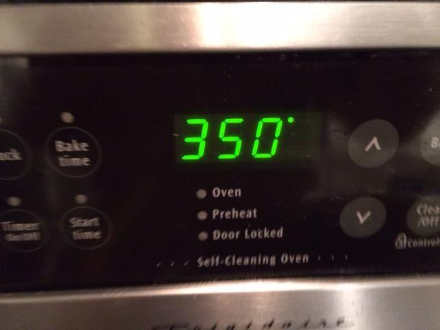 ¿Puedes adivinar lo que la temperatura del horno debe ser de al?
