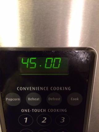 ¿O cuánto tiempo debe cocinar para? Cubra con papel y una vez que's done remove the foil and cook another 10 minutes.