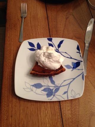 Inicio su pastel de calabaza, helados o simplemente comer fuera de la taza! (Es broma). Permanecerá en la nevera durante un día o dos, pero luego se irá plana, a fin de utilizarlo para arriba!