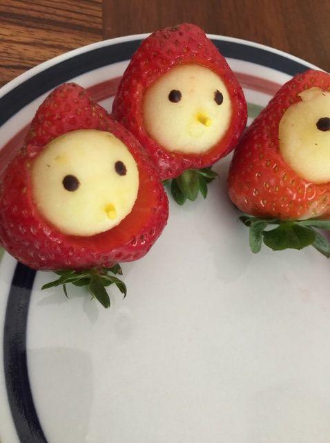 Cómo hacer Estos fresco Receta fresa de Apple Empanada de Cutie Chicky