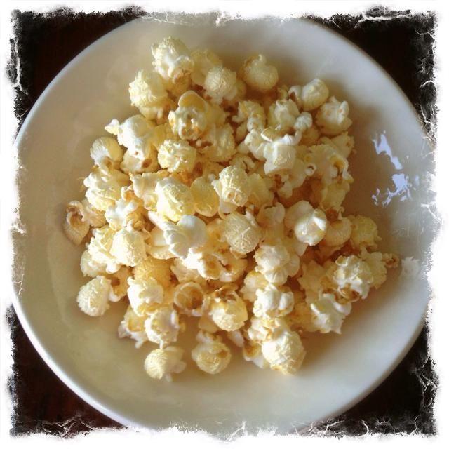 Ahora usted tiene deliciosa, baja en calorías, maíz de la caldera! Nummy !!!