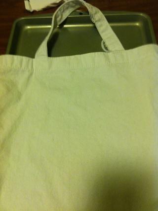 Así fue como Martha hizo. Puse una bandeja de horno en mi bolsa.