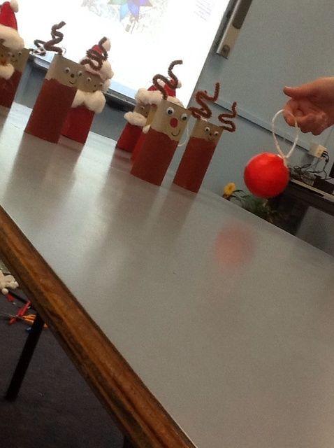 Cómo hacer higiénico Rollo de Santa's and Reindeer