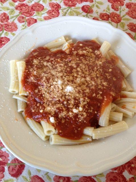 Cómo hacer salsa de tomate para Pasta ¿Te gusta Nana utiliza para hacer la receta