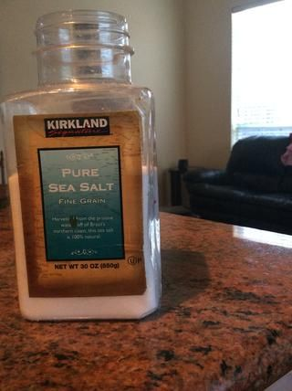 Añadir a la sal de acuerdo a sus gustos y preferencias.