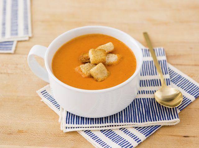 Cómo hacer sopa de tomate Receta
