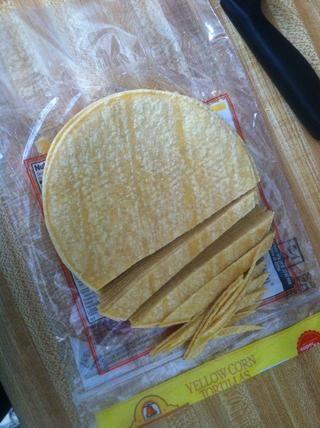 Tortillas Slice como este en rayas