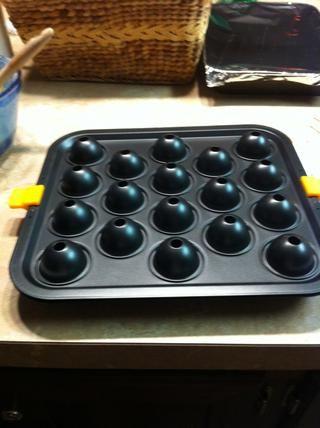 Hornee pops acuerdo con caja, asegúrese de usar el tiempo de cocción de la magdalena.