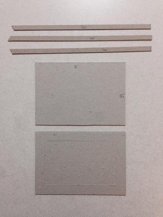 Cortar 2 piezas de tableros de aglomerado en 5