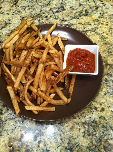 Cómo hacer patatas fritas las trufas de aceite Receta