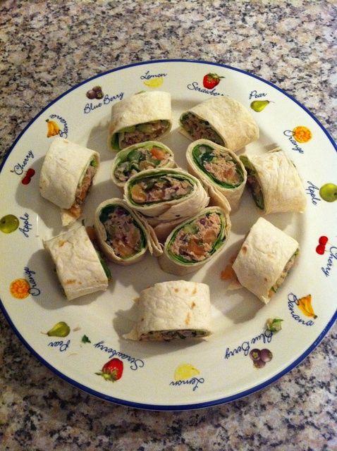 Cómo hacer Tuna Ceviche Wraps Receta