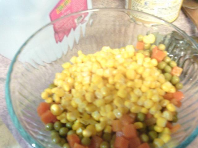 Después de que ponga su maíz en.