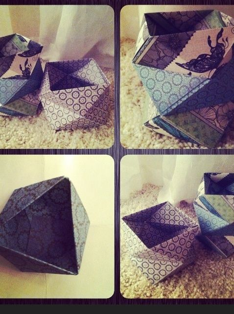 Cómo hacer Twisted Cajas geométricas (tan fácil !!!)