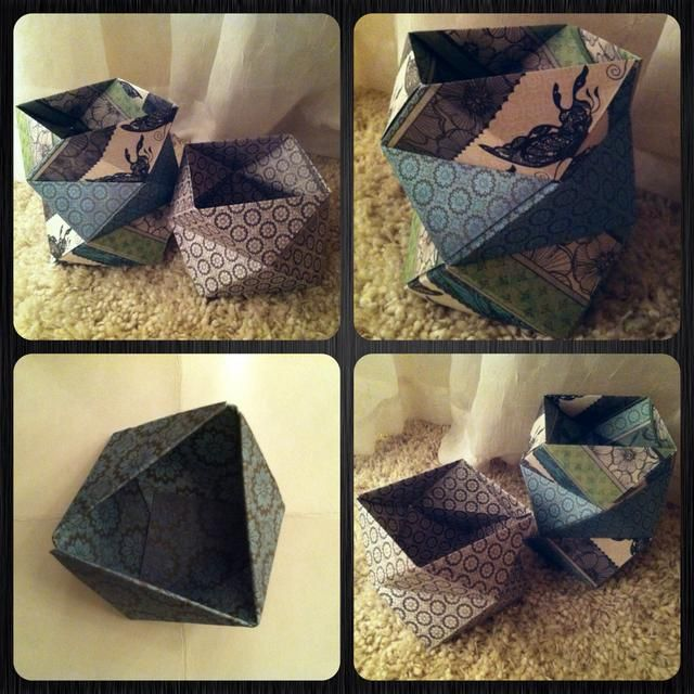 aquí's examples, but u can do so much more! Make triangle box taller w/ more