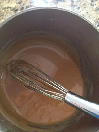 Cocine esto hasta que se calienta de nuevo hasta 230 °. Retírelo del calor