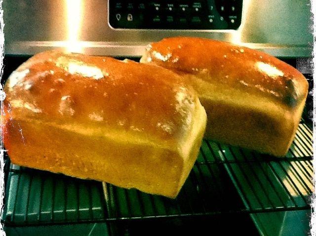 Cómo hacer Dos hermosas grandes Panes del pan Receta
