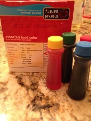 Colorante para alimentos