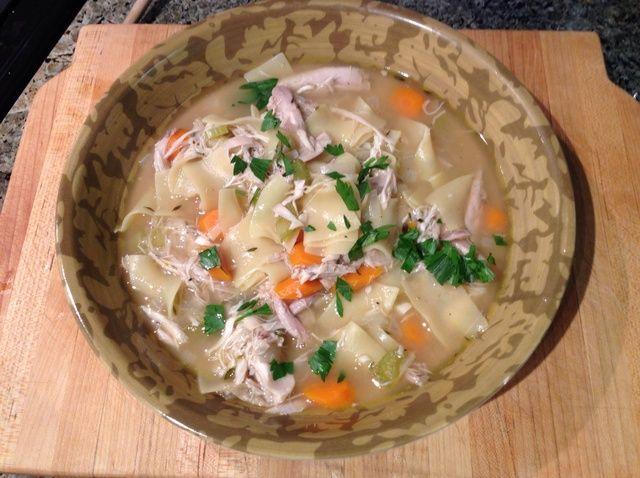 Cómo hacer Tyler's Chicken Noodle Soup Recipe