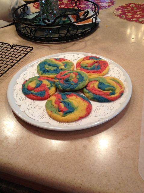 Cómo hacer Unicornio Poop Receta de las galletas