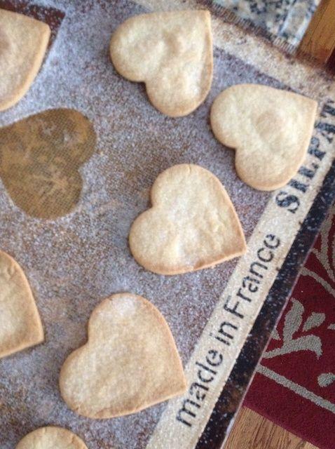 Cómo hacer de San Valentín torta dulce Galletas Receta