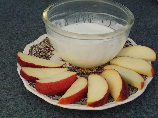 Cómo hacer Vanilla FruiTEA Dip Receta