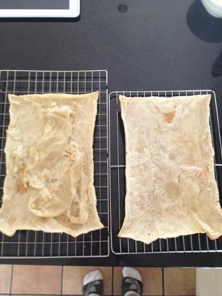 Ahora está a la izquierda con cuatro capas. aquí's what two of them look like.
