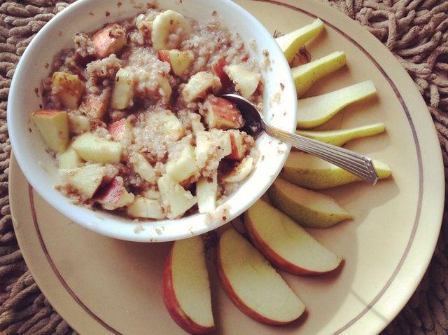 Cómo hacer vegano y sin gluten Desayuno Gachas Receta
