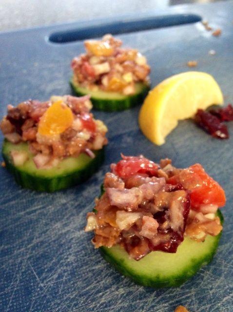 Cómo hacer vegano Frijol Negro Atún Ensalada Receta