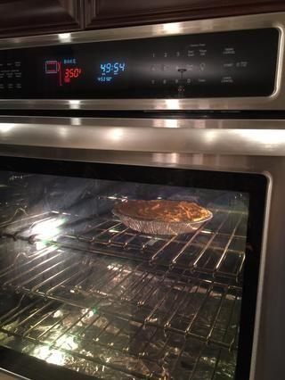 Coloque en el horno durante 50 minutos.