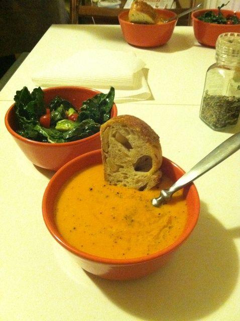 Cómo hacer Vegan Carrot Jengibre Sopa Receta