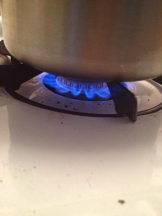 Encienda el fuego a alto y cálido a fondo durante 3-4 minutos o hasta que alcance su temperatura de la bebida deseada. Use una cuchara para revolver y poner a prueba la temperatura con frecuencia.